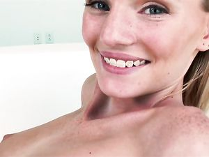 Petite 18 Year Old Cutie Fucked By A Big Dick Guy