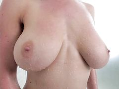 Dillion Carter Shower Sex From Behind With A BJ