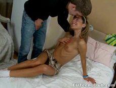 Vivacious GF Gives Her Man A Sexy Blowjob