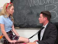 Flexible Schoolgirl Used Like A Sex Toy