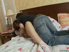 Juicy Young Snatch Loves Riding His Hard Dick