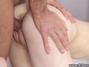 Teens Share The Dude With A Big Cock