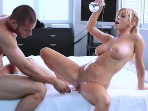 Tasha Reign Takes A Creampie In Her Hardcore Scene