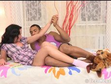 Amazing Teen Asshole Stretches For Big Black Cock