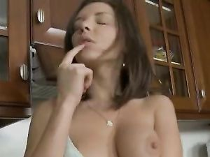 Anal Quickie In The Kitchen With A Busty Girl