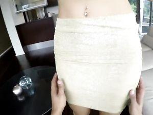 Blonde Princess POV Blowjob And Fucking