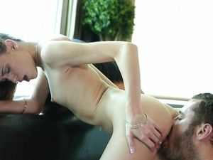 Horny Teens Sharing A Huge Long Dick And Loving It