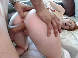 Pale Redhead Babe Loves Getting Cum In Her Mouth