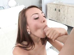 Amazing Teen Enjoys Riding Cock And Fucking Doggy Style