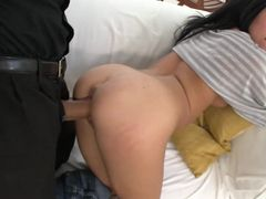 Skinny Piece Of Ass Is Hot For His Cock