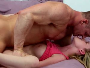 Milky White Girl Gets The Rough Fucking She Craves