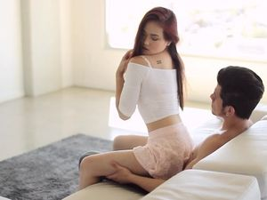 Hot Teasing Asian Leaves Him Rock Hard For Lovemaking