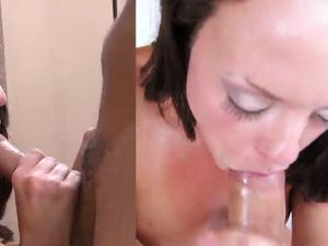 Cock Nuts In Her Mouth And The Teen Swallows