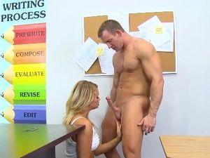 Spying On A Masturbating Teen Gets Him Laid