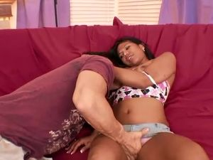 Fat Cock Stretches Out This Cute Ethnic Slut