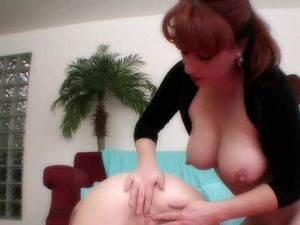 Teenage Girl Scissoring With A Beautiful Milf Redhead