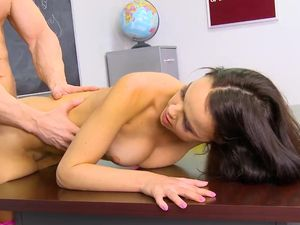 Dillion Harper Fucked In Class By Her Horny Teacher