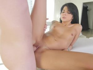 His Cock Is Too Big For Her Mouth And Perfect For Her Cunt