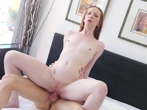Milky White 18 Year Old Arouses Him With Her Mouth