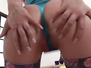 Rough DP Sex For The Big Booty Whore